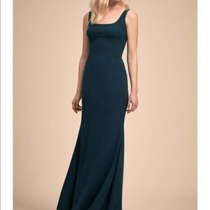 BHLDN Anthropologie Katie May Lucy Blue Dress